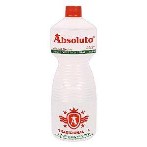 Álcool 46  Caixa c/ 12 unidades -  Absoluto