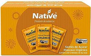 Açúcar Mascavo Orgânico Caixa  250g - Native