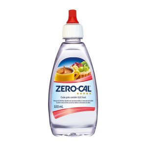 Adoçante Liquido 100ML - Zerocal