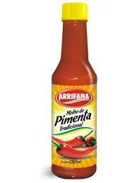 Molho de Pimenta 150ml -  Arrifana