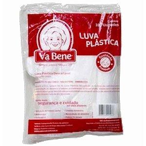 Luva Plastica Descartável C/ 100un - Vabene