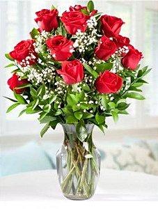 Arranjo de Rosas Vemelhas