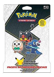 Carta Jumbo - Blister Gigante Alola  - Pokémon TCG - 25 Anos