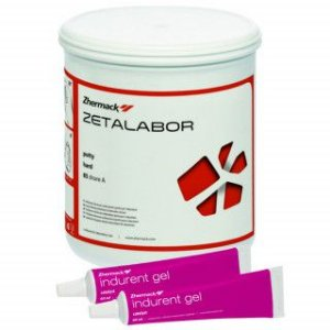 Silicone Condensação Zetalabor Muralha + Indurent Zhermack