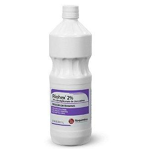 Antisséptico Tópico Degermante Riohex 2% Rioquímica