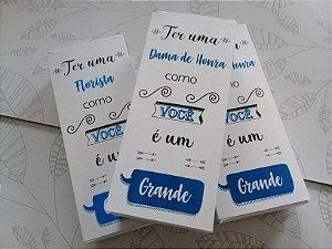 Caixa convite Padrinhos e Madrinhas