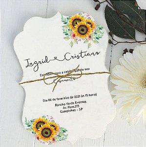 Convite de Casamento Ingrid e Cristiano