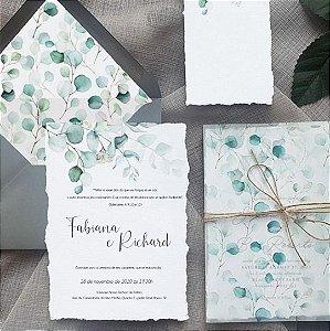 Convite de Casamento Fabiana e Richard