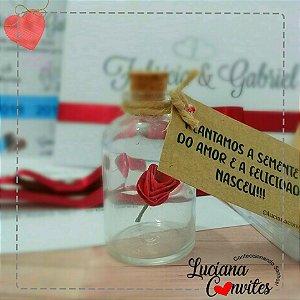Lembrança de Casamento Flor de Amor