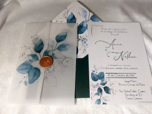 Convite de Casamento Ana e Nathan