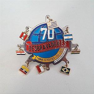 ARGANÉL/PREND DE LENÇO, 70 ANOS DBV, AONDE EU PERTENÇO, C/ BANDEIRINHAS NÍQUEL