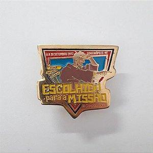 PIN ESCOLHIDO PARA A MISSÃO
