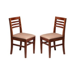 Conjunto - 2 Cadeiras Turmalina Estrutura em Madeira Maciça