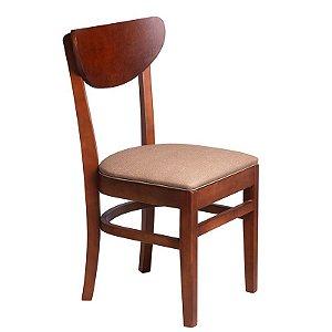 Cadeira Manaus Estrutura em Madeira Maciça - Capuccino