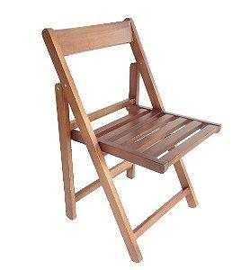 Cadeira Dobrável POP Madeira Maciça