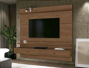 Painel TV até 58 Polegadas Treviso 1.60 Naturale - EDN Móveis