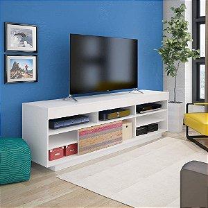 Rack para TV até 60 Polegadas Treviso Branco/Antique/Branco - Artely