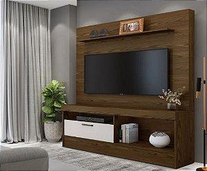 Painel Home TV até 60 Polegadas Star Canion/Off White - Mavaular
