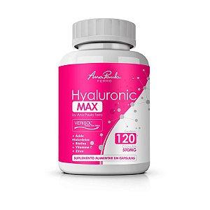 HyaluronicMax - Suplemento Rejuvenescedor, 590 mg, 120 cápsulas
