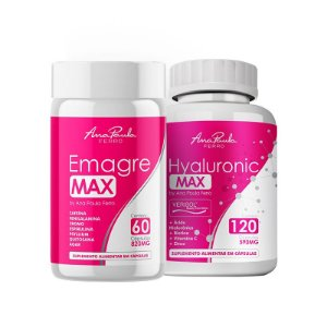 Kit EmagreMax + HyaluronicMax