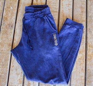 Calça de moletom Azul Estonado
