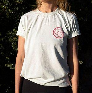 Camiseta Logomarca Enfim Livres - Verde Mint