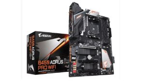 PLACA MÃE MB AM4 GIGABYTE B450 AORUS PRO WIFI USB3.1 TYPE C