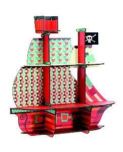 Nicho de parede Barco Pirata