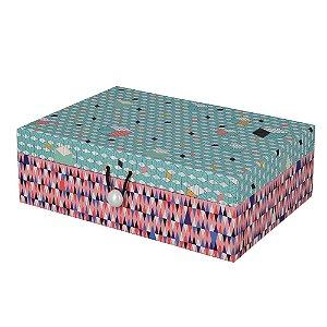 Caixa Fragments Decorativa / Organizadora  M