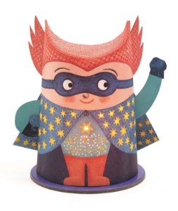 Mini Luminária Mister Super