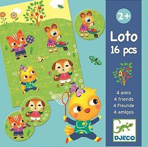 Jogo Loto - 4 amigos