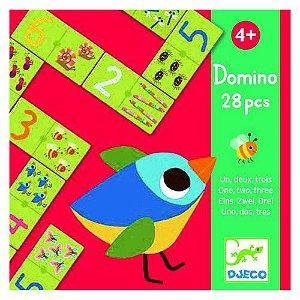 Jogo Dominó - Um, Dois, Três