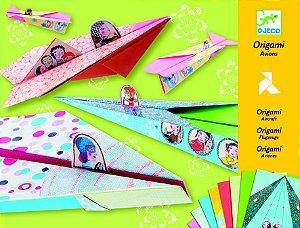Origami - Aviões Decorados