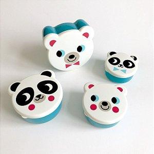 Conjunto de Potes - Animais Polares