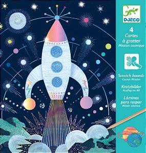Ilustrações raspadinha - Missão Cósmica