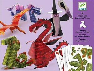 Criar com papel - Dragões e Feitiços