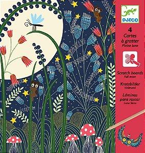 Ilustrações Raspadinhas - Lua Cheia