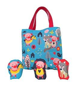 Bolsa Divertida - Três Porquinhos (Toy Bag)