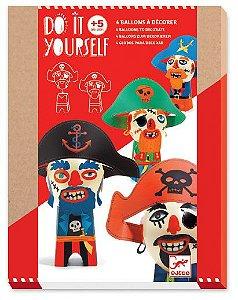 kit Balões para Decorar  Piratas - Vamos Fazer
