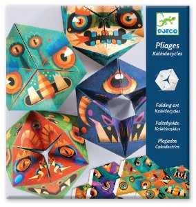 Criar em papel - Caleidociclo Monstros