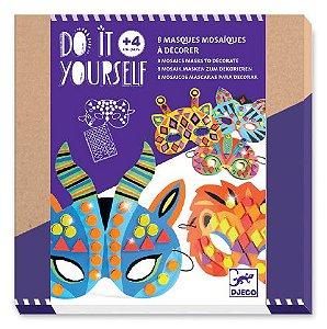 Kit Máscaras para Decorar - Vamos Fazer