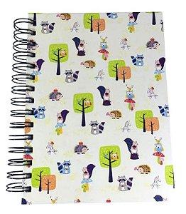Caderno Woodland pequeno