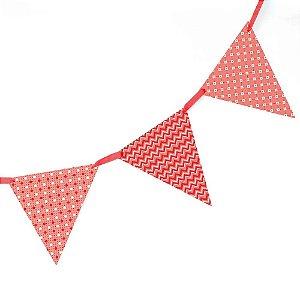 Bandeirola de papel - vermelha