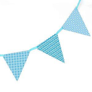 Bandeirola de Papel - azul