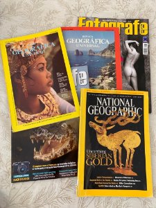 Kit de 5 Revistas Diversas - Edições variadas
