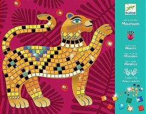 Colagem com mosaico - Selva