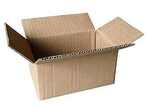 50 Caixas de Papelão P°4 16x11x8 cm