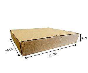 Caixa de Papelão 47x36x8 cm 25 unidades