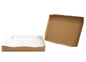 25 Caixas de Papelão Para Doces Salgado M -32x25x5cm
