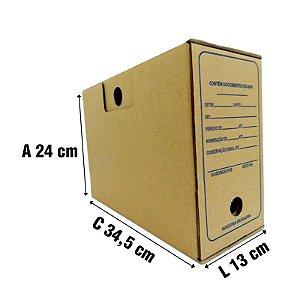 Caixa De Papelão P/ Arquivo - 10 unidades